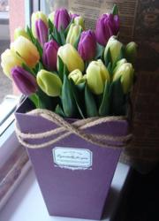 Тюльпаны к 8 Марта 2019 оптом